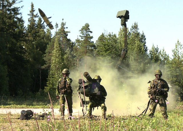 Saab Receives 29 Million Order for RBS 70 Missiles for an Undisclosed Customer  640 001