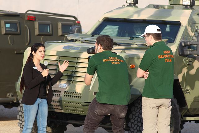 IAG Guardian APC 4x4 armoured personnel carrier combat-proven by Kurdish armed forces in Iraq 640 001