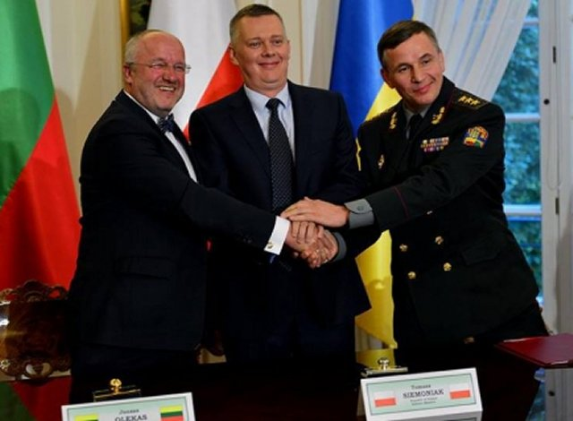 Lithuanian MPs unanimously ratify creation of joint Ukrainian-Polish-Lithuanian Brigade