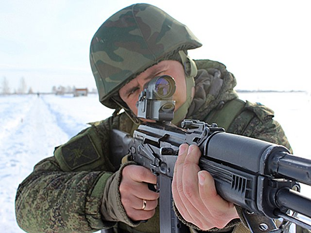 Russia Central Military District reconnaissance units are getting equipped with 1P63 collimator sights 640 001
