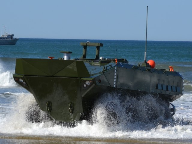 BAE Systems submits bid for US Marine Corps amphibious combat vehicle 1 1 program 640 001