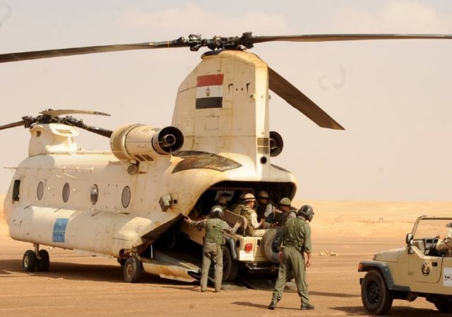 Egypt extends for three months military mandate to deploy military in the Gulf 640 001