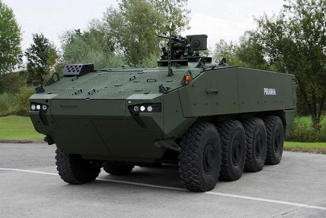 GDELS Piranha 5 8x8 armoured vehicle selected by Norway to replace M113 tracked APC 640 001