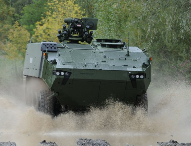 General Dynamics officially selected by Denmark to provide 206 Piranha 5 IFVs 640 001