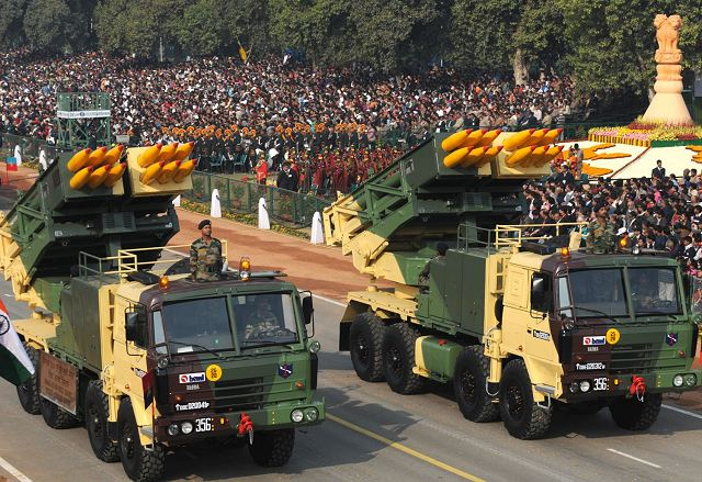 India to boost its artillery forces with 6 new regiments of Pinaka MLRS Multiple Launch Rocket Systems 640 001