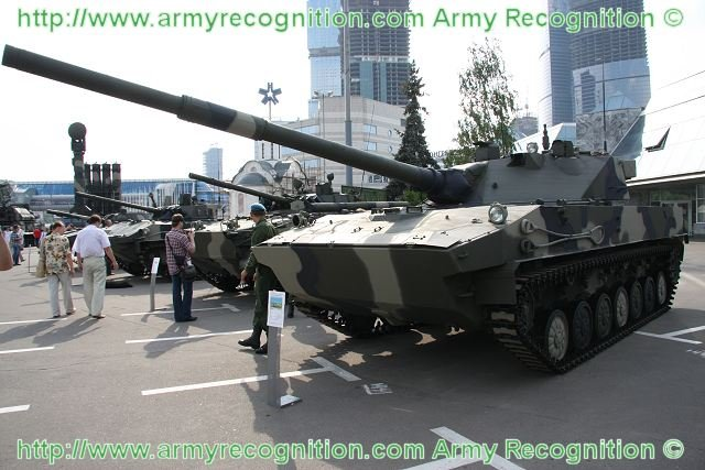 New version of 2S25 Sprut-SD self-propelled gun for Airborne Forces expected in 2015 640 001