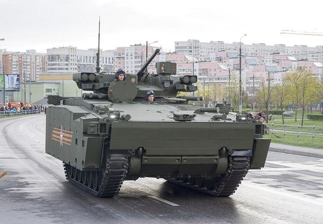 Serial production of Russian new Kurganets-25 BMP combat vehicles may start in 2017
