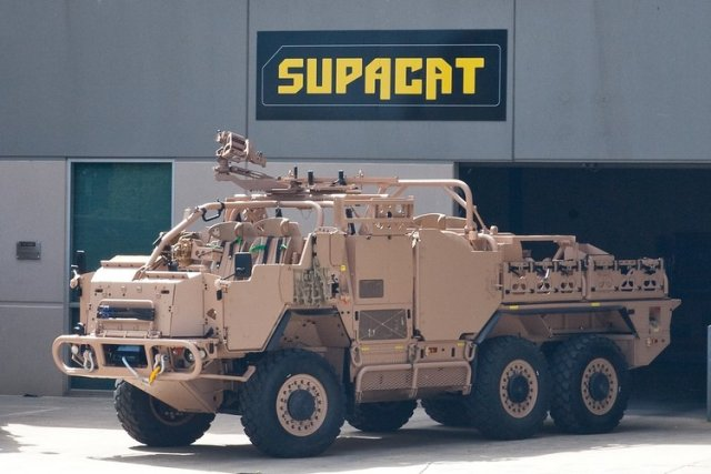 Supacat signs 35m contract to provide HMT Extenda for Norwegian High Mobility Vehicles program 640 001