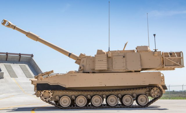 BAE Systems receives a 245mn contract from US Army for M109A7 Paladin self propelled howitzer 640 001