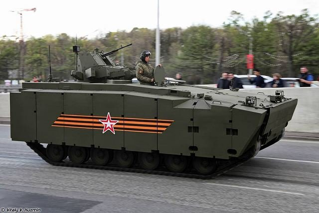 Kurganets-25 BTR tracked armoured vehicle personnel carrier Russia Russian army military equipment 001
