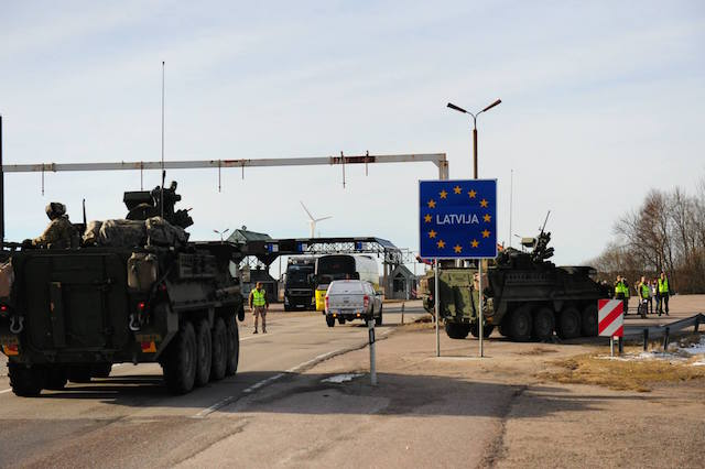 NATO considers increasing troops in the Baltic states