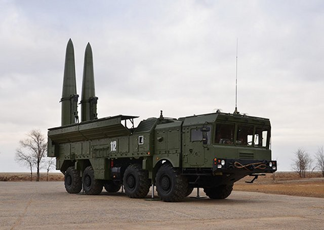 New Iskander M missile brigade enters service in Russian Western Military District 640 001