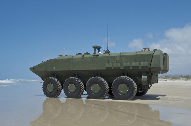SAIC and BAE Systems win USMC's amphibious combat vehicle competition BAE Systems