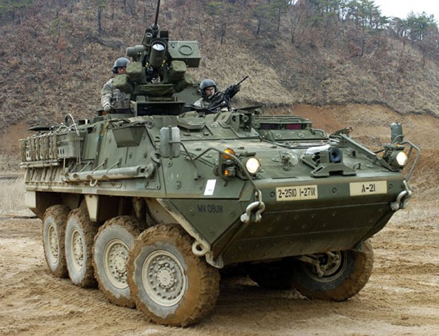 US approvessale of 84 Stryker Infantry Carrier Vehicles to Lithuania 640 001