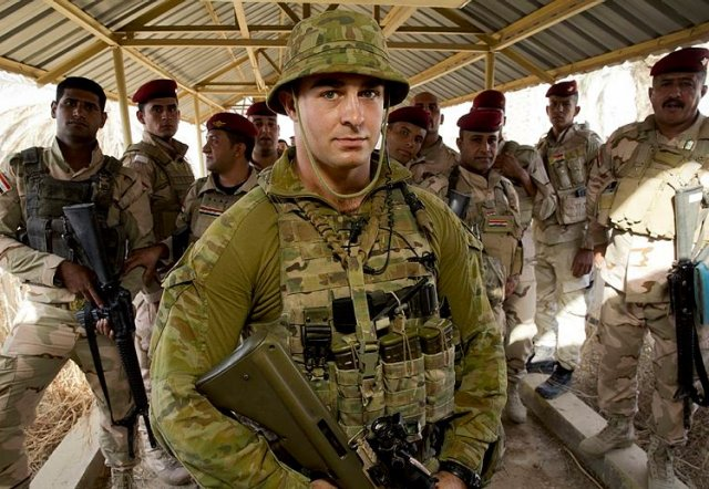 Australian and New Zealand forces about to train another 2000 Iraqi soldiers 640 001