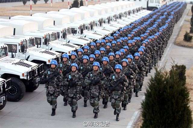 China has been taking an active part in the UN peacekeeping operations and has already become a major contributor of troops and funds to the peacekeeping operations, making important contributions to safeguarding world peace and security with concrete actions, Chinese Foreign Ministry Spokesperson Hua Chunying said at a regular press conference on October 23, 2015.