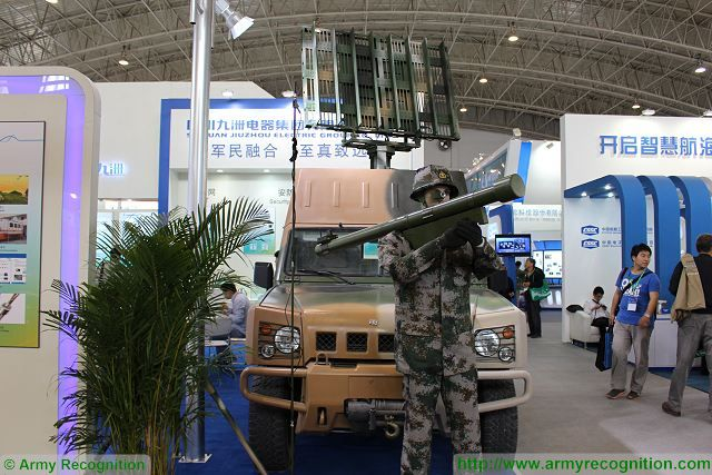 At CIDEX, the Company has presented its JZ/QF-612 Command and Control radar integrated on light 4x4 tactical vehicle.