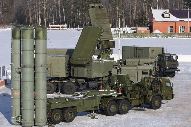Russia will supply six battalions of Russian-made S-400 air defense missile systems to China 640 001