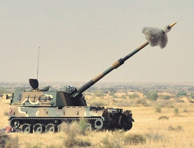Larsen and Toubro selected to supply 100 self propelled howitzers to the Indian Army 640 001
