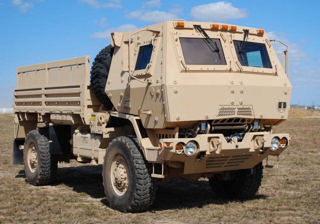 Oshkosh receives FMS from multipl countries for 84 Family of Medium Tactical Vehicles 640 001