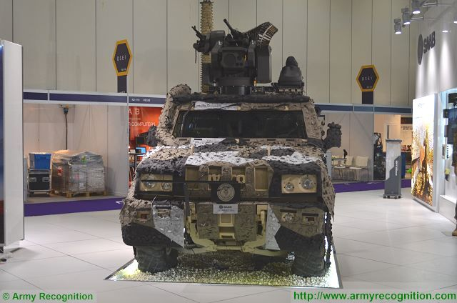 SAAB presents a new urban warfare configuration of its Barracuda MCS camouflage solution 640 001