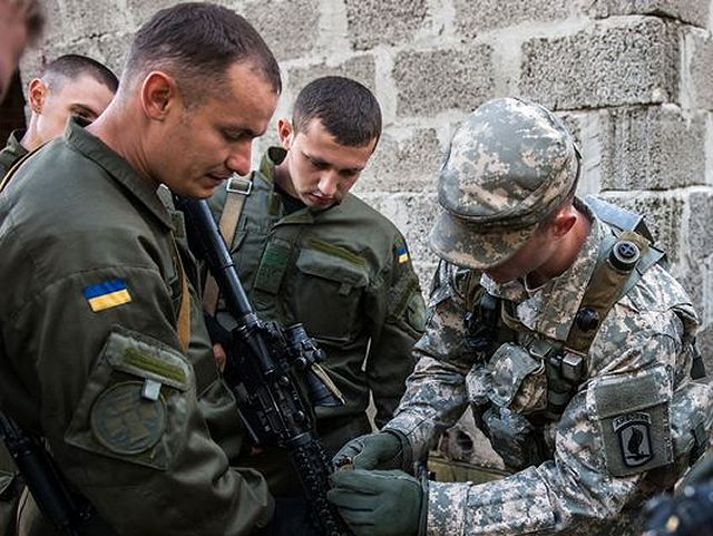 Special Forces troops of Ukraine will be trained by US army instructors 640 001