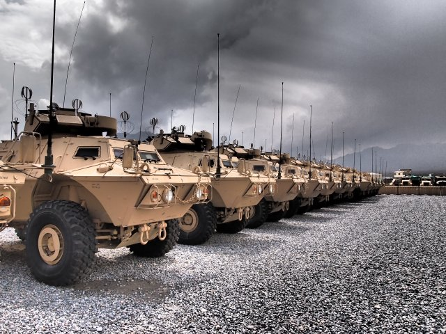 Textron Systems to deliver 55 more Mobile Strike Force vehicles to the Afghan National Army 640 001