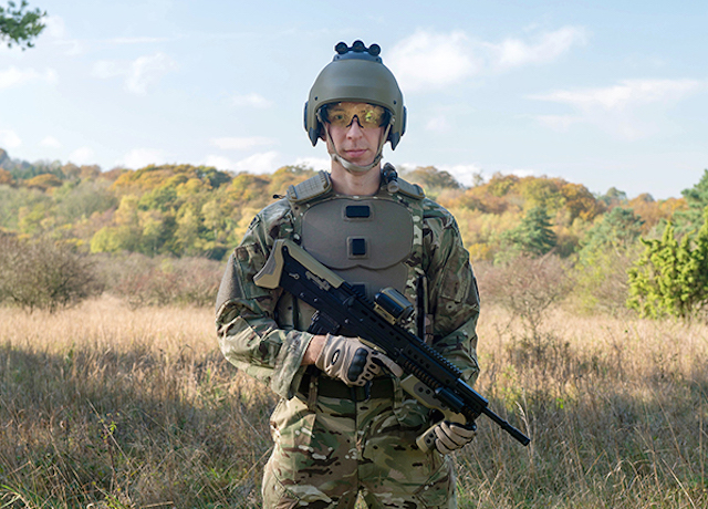 UK MoD unveils futuristic uniform design