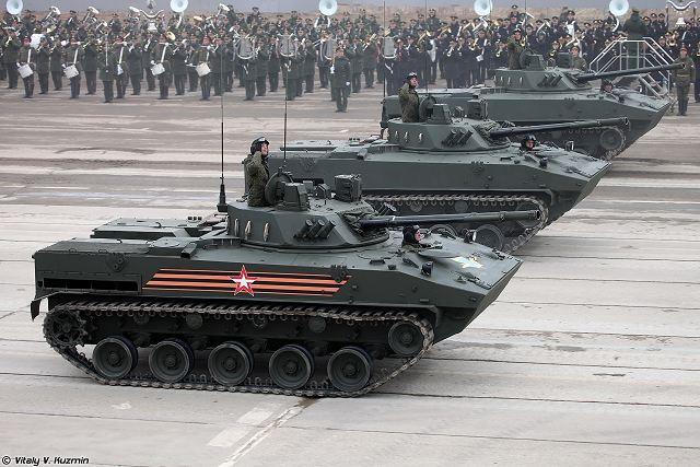 BMD-4M and BTR-MDM airborne armoured vehicles enter officially in service with Russian army 640 001