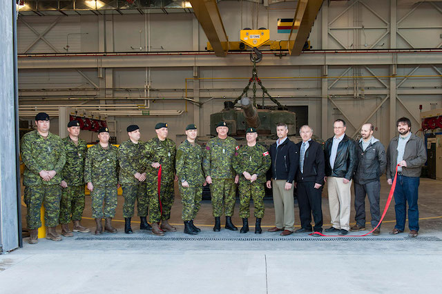 Canada sets up Leopard 2 tank maintenance facility