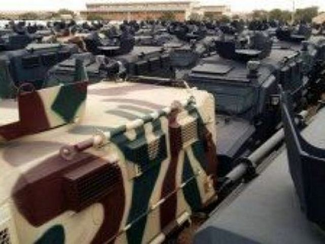 According the Libyan Herald newspaper and te website DefenseNews, The Libyan National Army (LNA) has taken delivery of several wheeled Armored Personnel Carriers (APC) and military pick-up trucks donated by the UAE (United Arab Emirates).