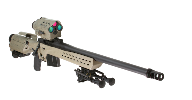 TrackingPoint reveals the M1400 precision guided firearm