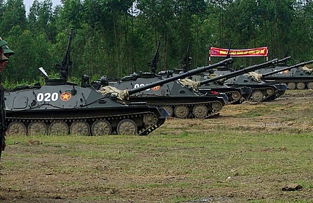 The Vietnamese armed force back into service the old Soviet-made ASU-85 which was used by the Russian airborne troops from 1959, to replace the ASU-57. According to Janes, Vietnam has expressed interest to purchase upgrade package for the ASU-85 from Belarus.