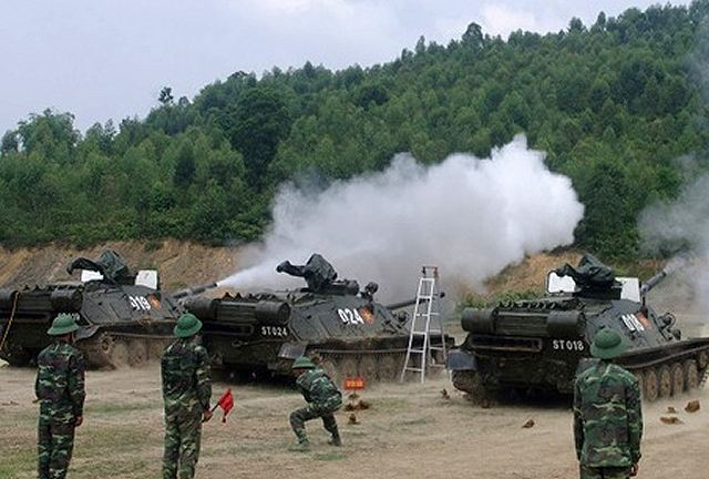 Vietnamese Army Back Into Service The Old Soviet Made Asu