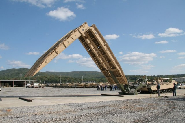 DRS Technologies awarded 400 Million US Army contract to build new Joint Assault Bridge system 640 001