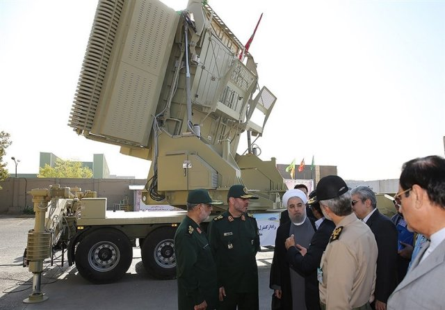 Iran unveils its homegrown Air Defense Missile System The Bavar-373 640 002