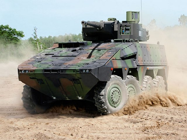 Lithuania boosts army with 88 BOXER Infantry Fighting Vehicles 640 001