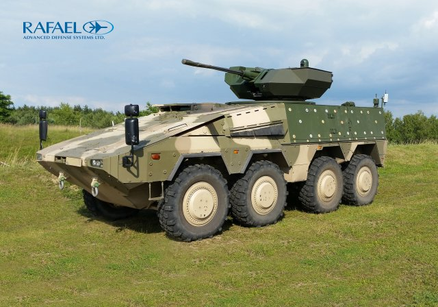 Lithuania s BOXER vehicles to receive Rafaels Samson Mk II Weapon Stations with Spike launchers 640 001