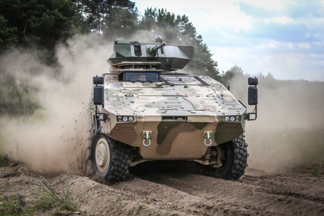 Lithuania to sign Procurement contract to acquire Boxer infantry fighting vehicles 640 001