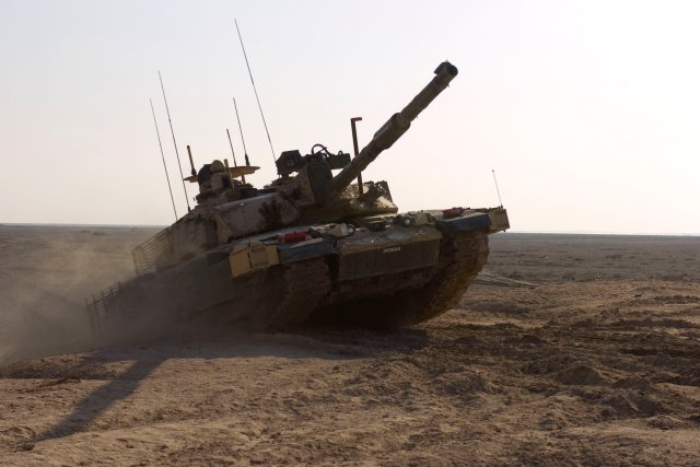 Lockheed Martin UK to bid for the upgrade of the British Armys Challenger 2 main battle tanks 640 001