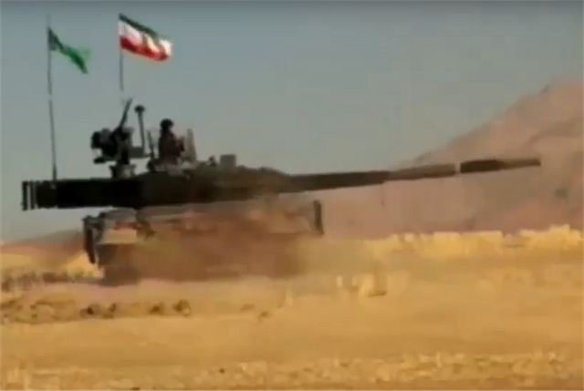 "First footage of the Iranian Television ""Telewebion"" has unveiled the new Iranian-made Karrar MBT (Main Battle Tank) which is full designed and manufactured in Iran. The layout of the Karrar seems to be similar to the Russian made T-90MS but with some specific features."