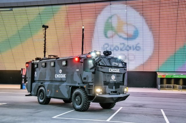 Plasan Guarder Armored Carrier Is Supporting Security Operations at the 2016 Rio Olympics 640 001