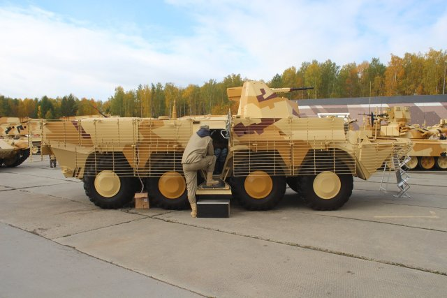 Russia develops bar slat armour to protect combat vehicles 640 001