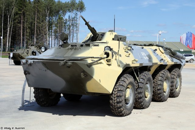 Russia to offer an upgraded version of the BTR-70 Armoured Personnel Carrier to foreign customers 640 001