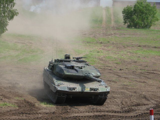 SAAB receives order for vehicle electronics for Leopard 2 Tank 640 001