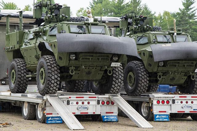 Textron Systems Canada Inc., a Textron Inc. company, announced August 19, 2016, the delivery of the first Tactical Armoured Patrol Vehicle (TAPV) to the Canadian Army. The Canadian Army is fielding the first vehicles to the 5th Canadian Division Support Base Gagetown and the 2nd Canadian Division Support Base Valcartier.