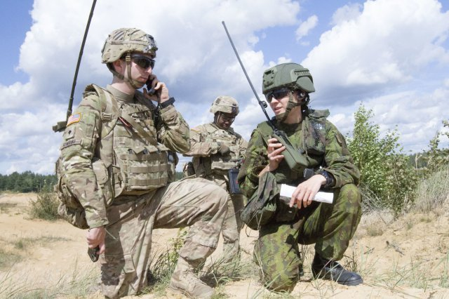 US Army takes part to Joint Live Fire Training with Allies in the Baltics 640 001