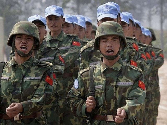 A third Chinese peacekeeping infantry battalion has been deployed in South Sudan 640 001