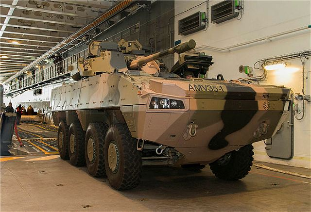 Australian army performs trial tests with BAE Systems AMV35 and Rheinmetall Boxer 8x8 armored 640 001