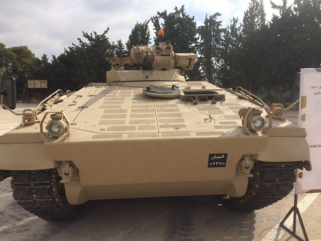 Germany has donated 25 Marder 1A3 IFV Infantry Fighting Vehicles to Jordan Armed Forces 640 001